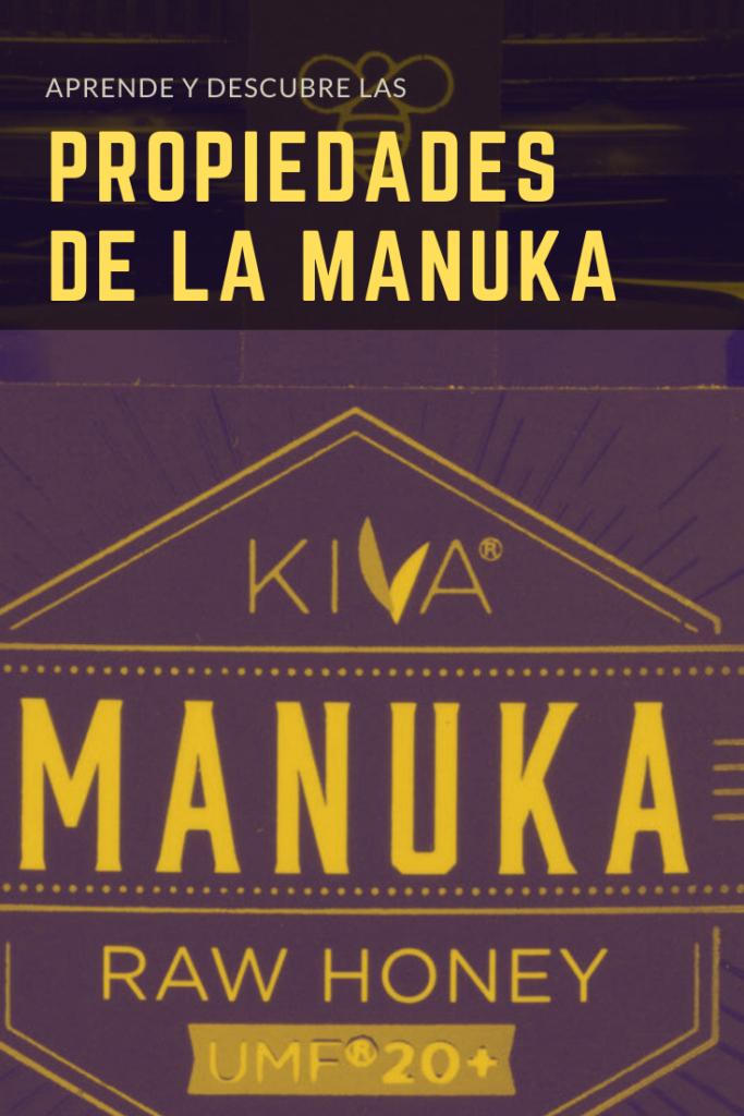 Propiedades de la manuka marca KIVA